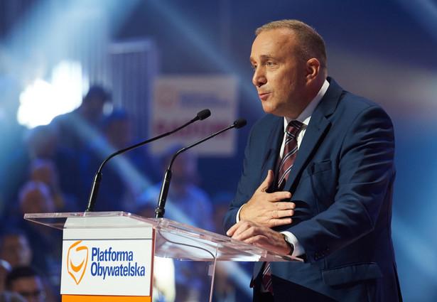 Przewodniczący PO Grzegorz Schetyna, PAP/Adam Warżawa