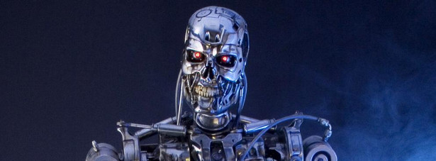 Robot T 800 z filmu Terminator 2