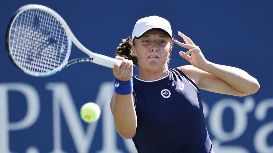 Iga Światek w WTA Race zajmuje aktualnie 5. miejsce