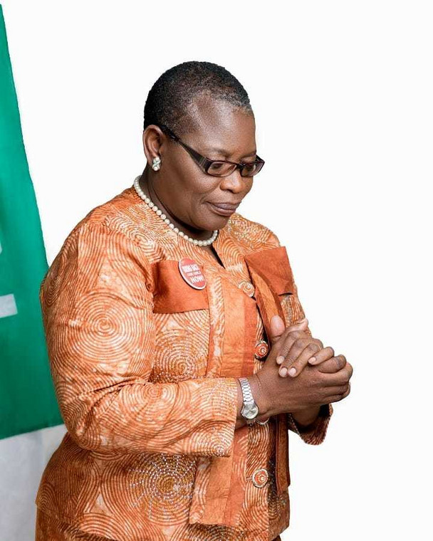 Ezekwesili has received her fair share of slack for showing up in South Africa (Ezekwesili media)
