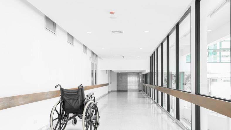 szpital wózek inwalidzki