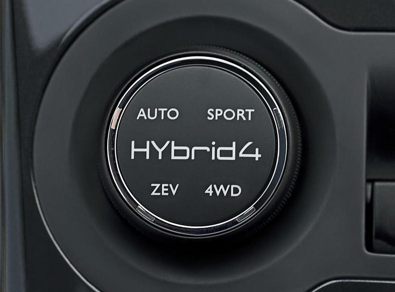 Peugeot 3008 HYbrid4 - pierwsza hybryda z dieslem