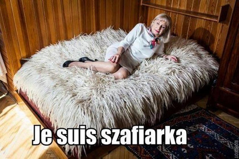 """Je suis szafiarka"""