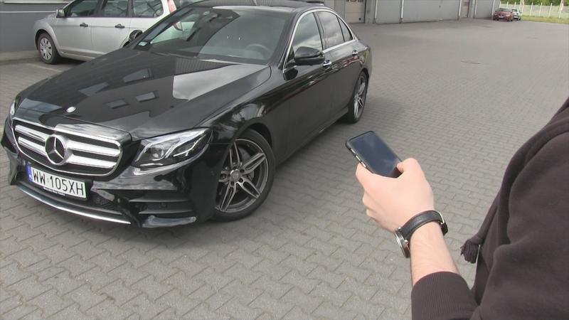 Mercedes-Benz Klasy E Pilot zdalnego parkowania