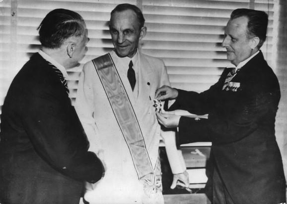Ford je dobio najviši orden nacista koji može da dobije ne-Nemac