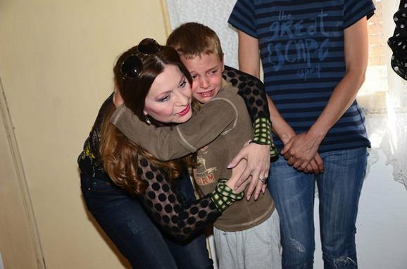 Jovan nije mogao da sakrije suze radosnice...
