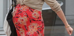 Oto ciążowy brzuszek słynnej aktorki