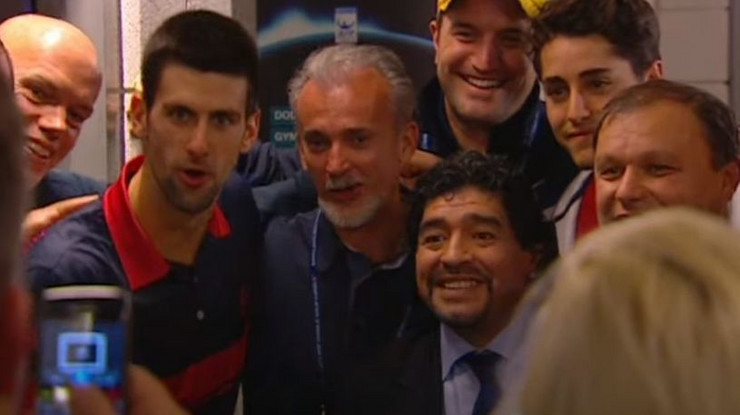 Nole i Maradona