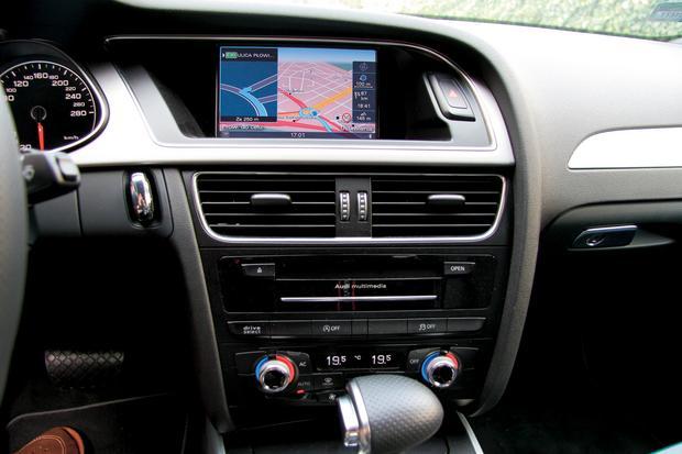 Samochody: Audi A4, A5 oraz A6, Audi Q5, Audi Q7.