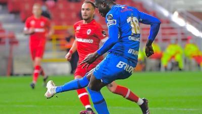 Paul Onuachu scores 30th league goal of the season