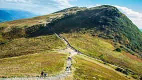 Bieszczady i Beskid Niski: dobre warunki dla turystów; możliwe burze