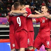 """SRPSKI FUTSAL TIM DEKLASIRAO AMERIKANCE """"Orlovi"""" se plasirali u osminu finala Svetskog kupa, na redu su Brazilci"""