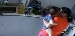 Pastwiła się nad dzieckiem. Wszystko nagrała ukryta kamera