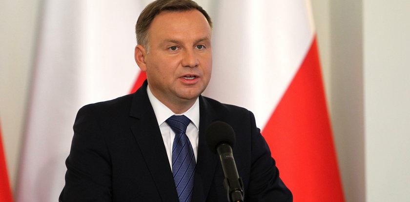 Prezydent Andrzej Duda podjął decyzję ws. Sądu Najwyższego