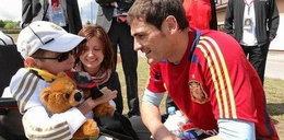 Casillas w hołdzie Dawidowi