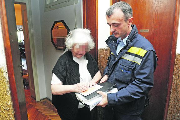 Penzije, penzioneri, poštar