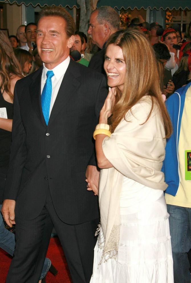 Marija i Arnold bili su u braju od 2003. do 2011. godine