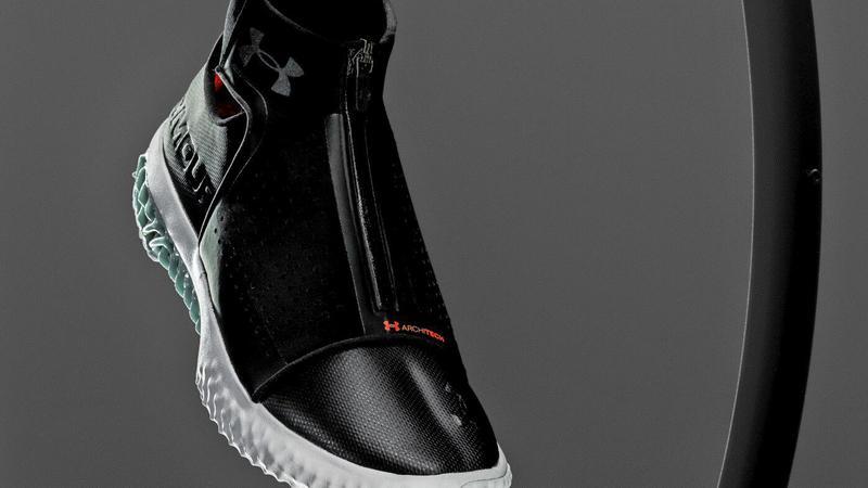 Under Armour zapowiada kolejne buty z drukarki