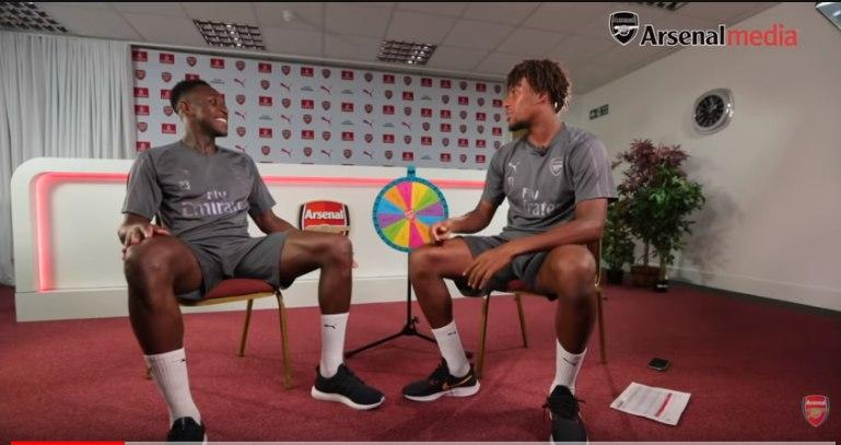 Danny Welbeck and Alex Iwobi