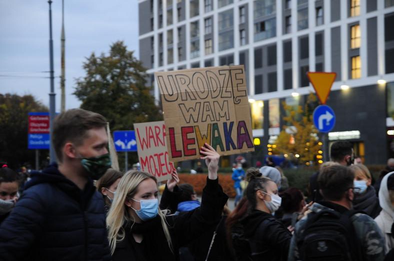 Blokada Ronda Wiatraczna w Warszawie