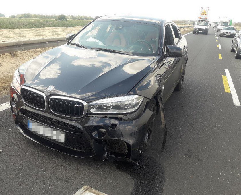 Rozbite auto Kamila Durczoka