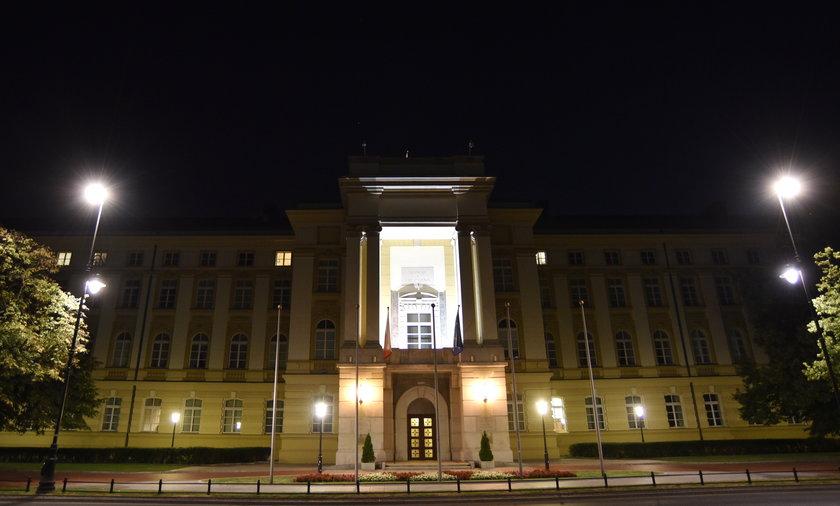 Iluminacja budynków rządowych.