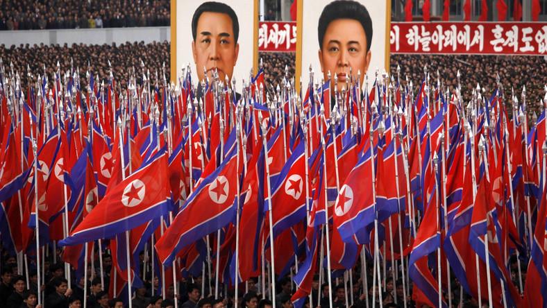 Defilada w Phenianie, Korea Północna