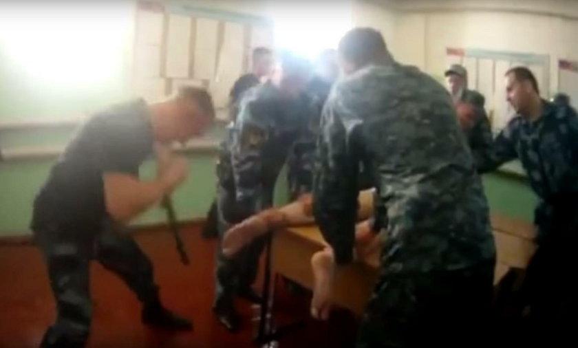 Przerażające naganie z rosyjskeigo więzienia