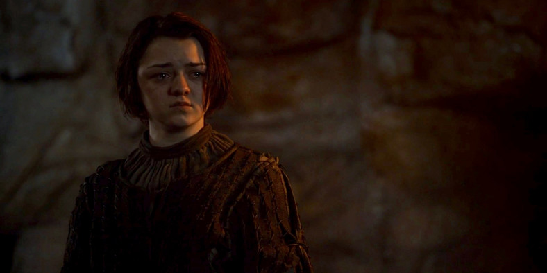 arya stark season three game of thrones