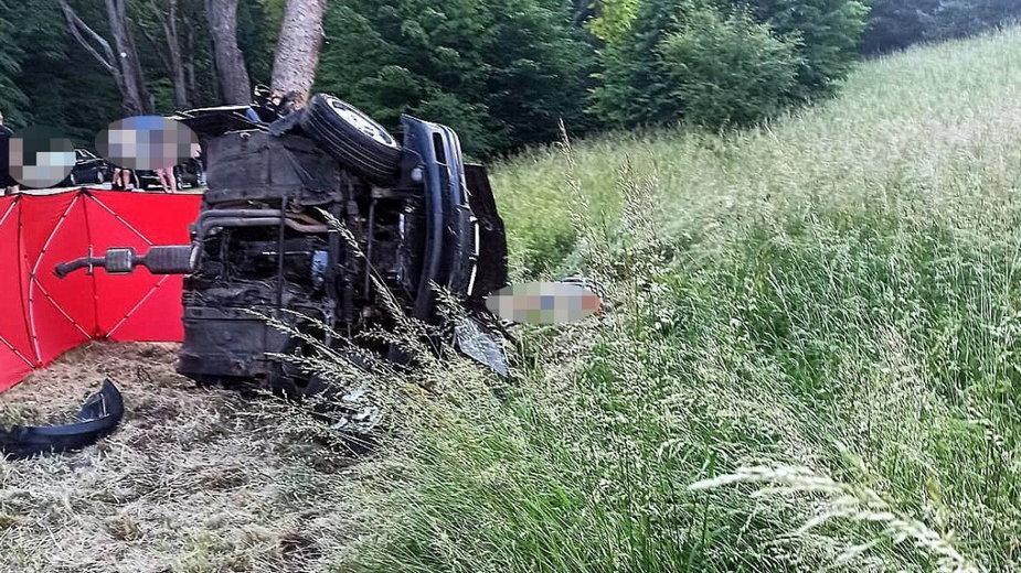 Samochód tragicznie zmarłej 26-letniej mieszkanki gminy Szczytno