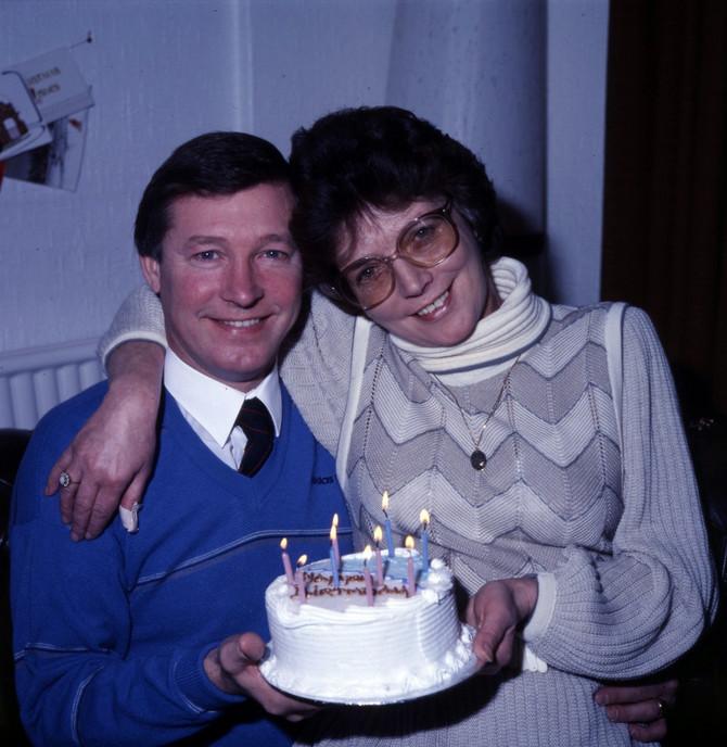 Ferguson sa suprugom slavio i rođendane i sportske pobede