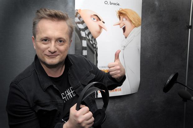 """Mikołaj Cieślak dubbinguje """"Gru, Dru i Minionki"""""""