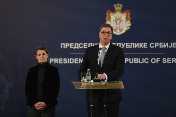 Brnabić i Vučić na današnoj pres konferenciji