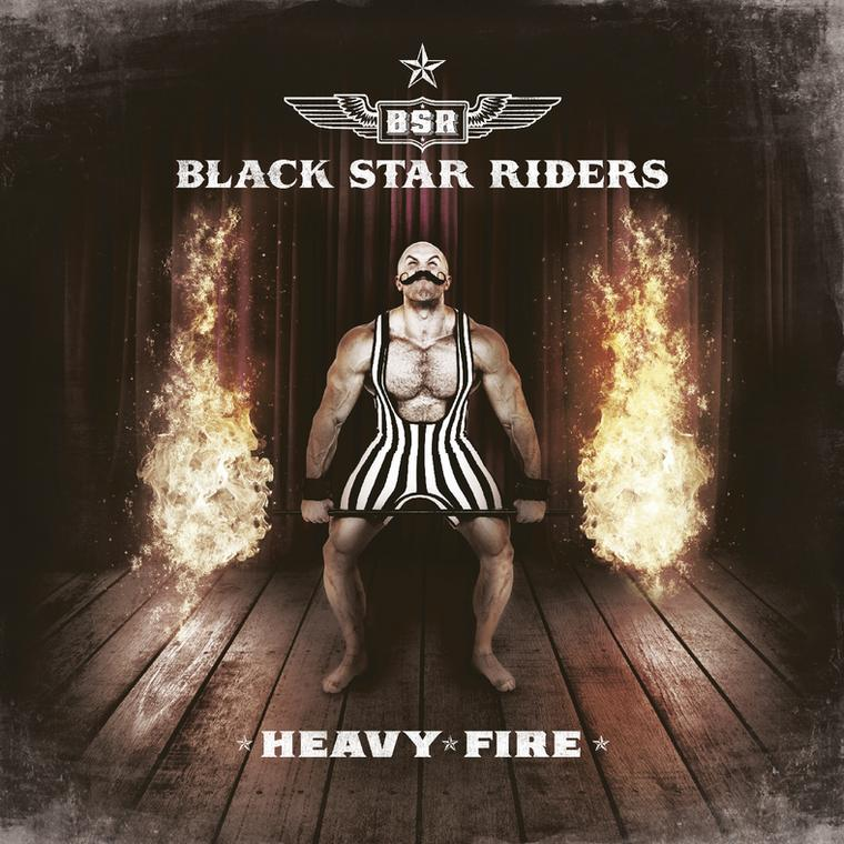 "BLACK STAR RIDERS – ""Heavy Fire"""
