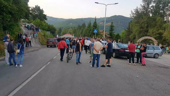 Blokada magistrale kroz Prijepolje ušla u četvrti dan