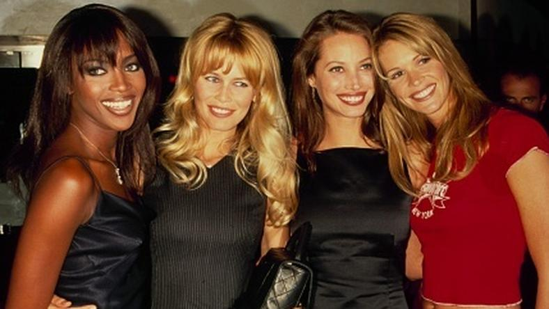 Naomi Campbell, Claudia Schiffer, Christy Turlington and Elle Macpherson
