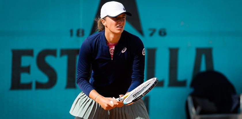 WTA Madryt. Iga Świątek nie sprostała liderce światowego rankingu