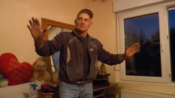 Živanko Tanasić, deda povređene devojčice