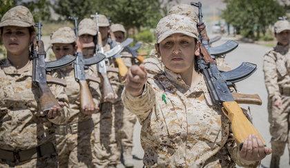Kobiety będą zabijać terrorystów