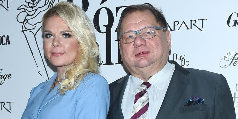 Ryszard Kalisz z młodą żoną na imprezie. Jak wypadli?