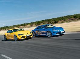 Czy Supra i 4 cylindry to dobry pomysł? Toyota GR Supra 2.0 kontra Alpine A110