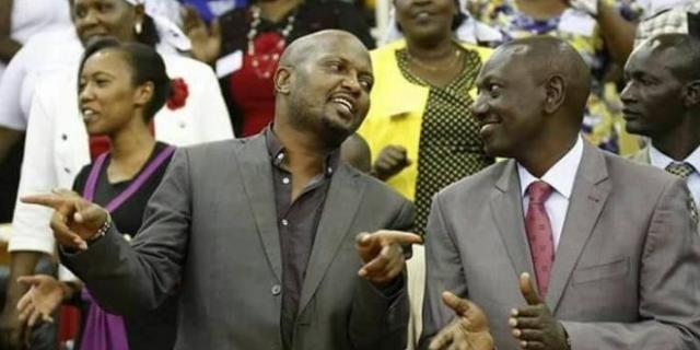 Ruto accidentally reveals Moses Kuria's fall out with PEP [Video] | Pulselive Kenya