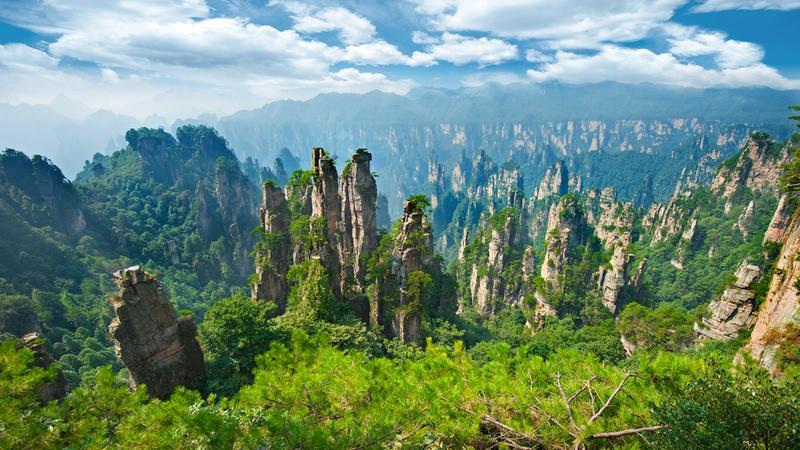 Park Narodowy Zhangjiajie, Chiny