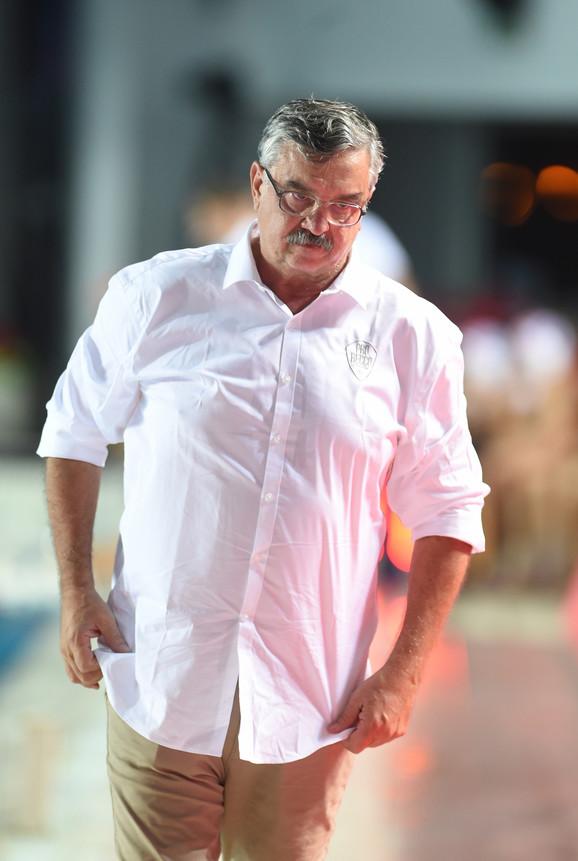 Ratko Rudić, trener Pro Reka
