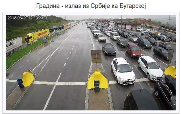 Granični prelaz Gradina