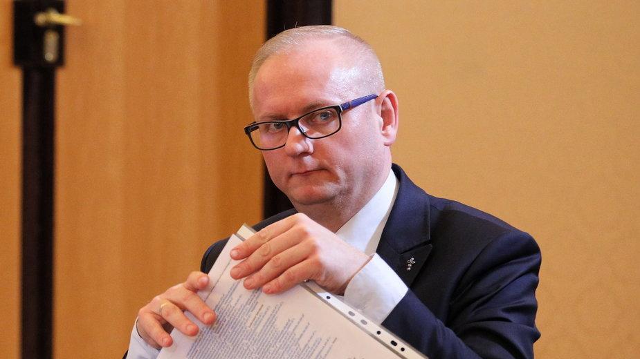 Były wojewoda wielkopolski Łukasz Mikołajczyk