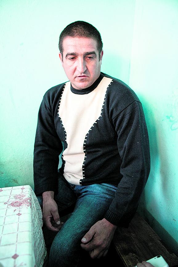 Povređen: Rajko Radisavljević