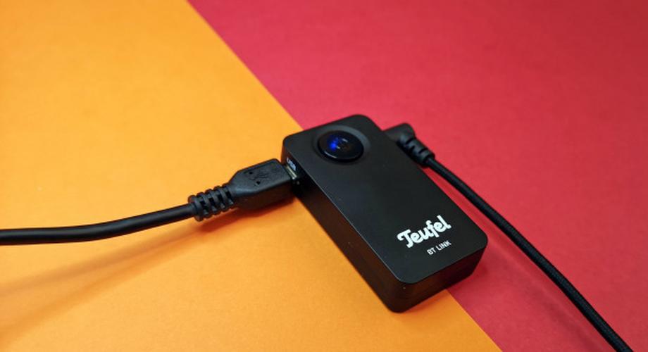 Audio-Bluetooth-Empfänger im Test: BT Link von Teufel