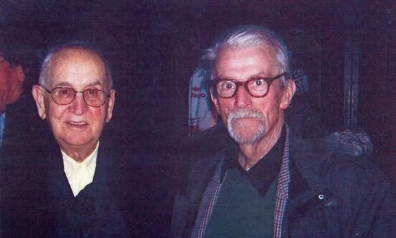 Puriša Đorđević i Nikola Majdak