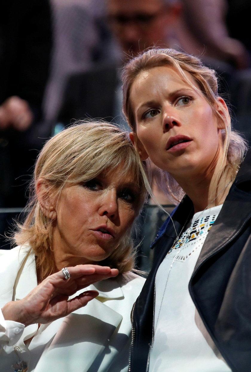 Brigitte Trogneux z córką